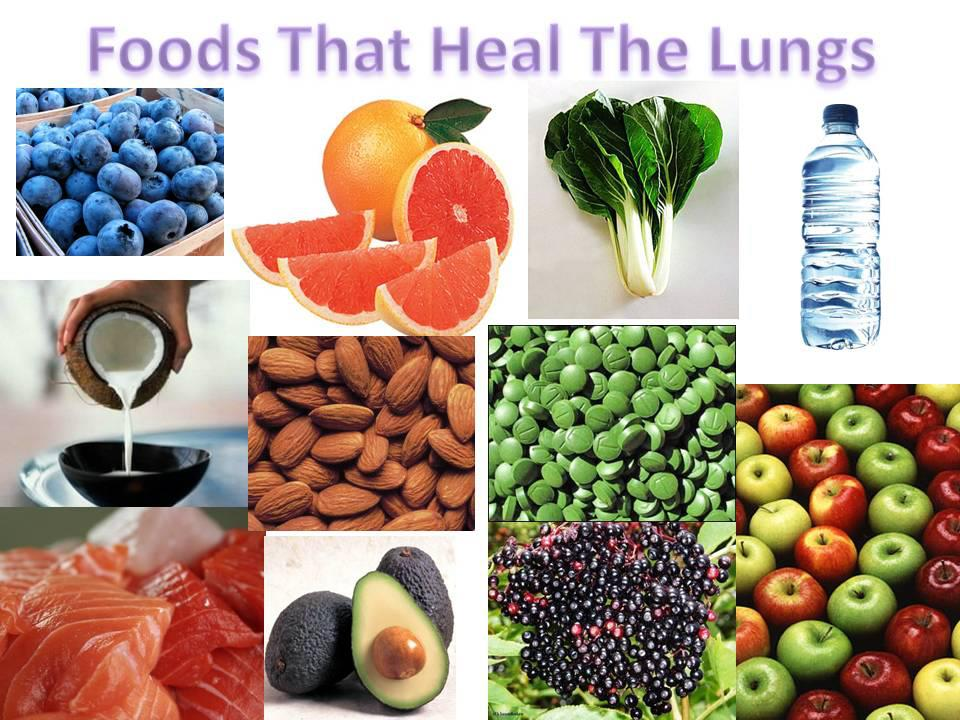 food heal lung