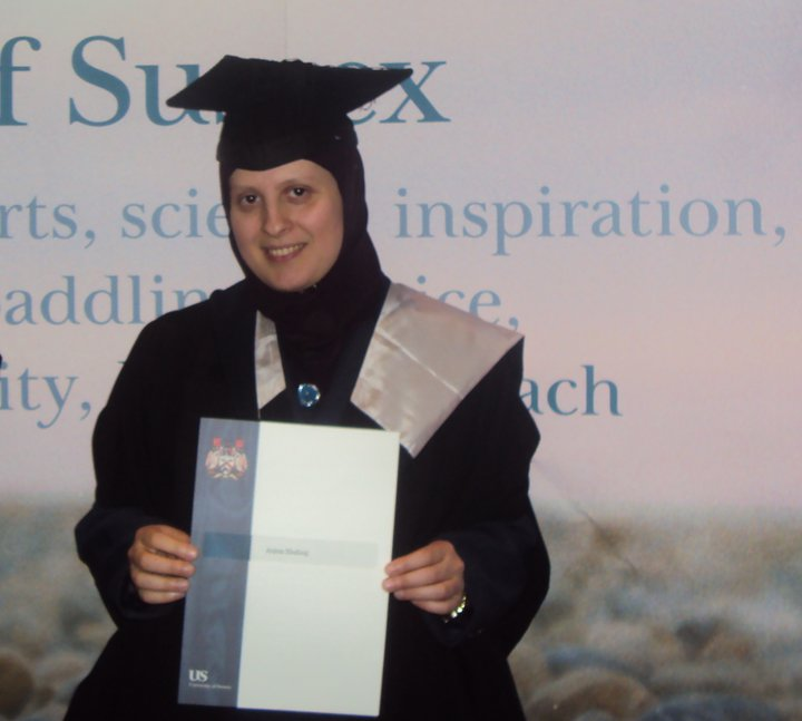 anjeza xhaferaj - Graduation Sussex